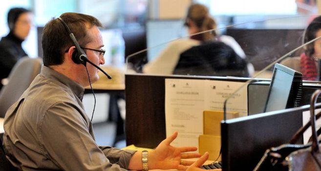 télévente en émission d'appels