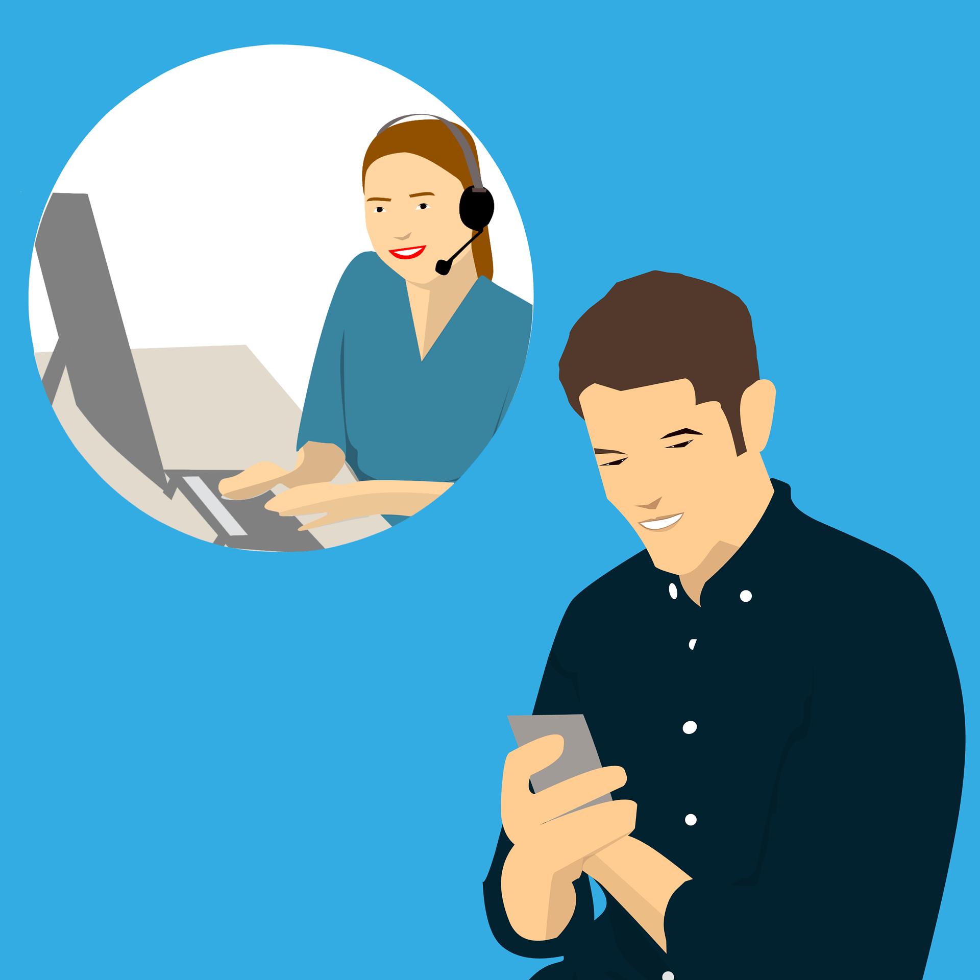 formation relation client au téléphone Paris