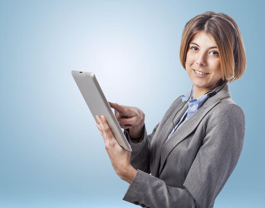 Service client et téléphone